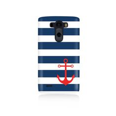 Blue stripes and anchor is available for LG Our cases precision-engineered to be the one of the lightest weight cases on the market. This Snap Lg Cases, Cool Cases, Latest Gadgets, New Gadgets, Cell Phone Cases, Iphone Cases, Lg G3, Wood Patterns, Phone Accessories