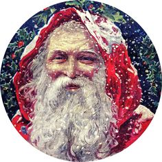 *The Graphics Fairy LLC*: Vintage Christmas - Classic Victorian Santa Victorian Christmas, Father Christmas, Santa Christmas, Christmas History, Cabin Christmas, Christmas Books, Christmas Decor, Santas Vintage, Vintage Santa Claus
