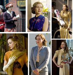 mildred pierce costumes Mildred Pierce, Kate Winslet, Costume Design, Different Styles, Afro, Style Me, Vintage Fashion, Ruffle Blouse, Style Inspiration