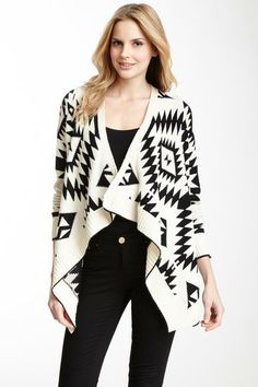 Open Front Aztec Cardigan by a.maglia on @HauteLook - http://AmericasMall.com/categories/womens-wear.html