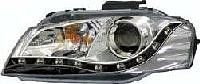 Trupart - Audi A3 03-09 Chrome Headlights / Black LED Daytime Running Lights Trupart Automotive are currently one of the U.K's leading car light suppliers. Trupart ranges includes car headlights, car angel eyes, lexus lights, car side repeaters plus much more.