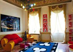 Hotel Byblos Art, cultura y arte a todo color en Verona - Decoesfera