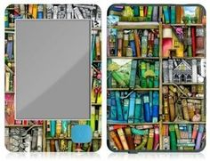 GelaSkins Kobo eReader Skin - Bookshelf by Colin Thompson by GelaSkins. $19.95. The best skins on the planet. GelaSkins are removable vinyl skins for protecting your portable devices. The feature stunning photo-quality graphics ranging from fine art prints to contemporary urban images designed by GelaSkins family of artists from around the globe. Make your devices stand out in the croud with personalized protection.
