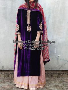 Pakistani Formal Dresses, Pakistani Dress Design, Indian Dresses, Punjabi Suits Designer Boutique, Indian Designer Suits, Velvet Dress Designs, Latest Velvet Suit Designs, Fashion Designer, Designer Dresses