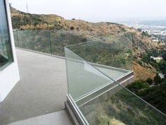 Glass Fence, Glass Railing, Diy Fence, Fence Ideas, Timber Deck, Banisters, Pool Houses, Gold Coast, Concrete