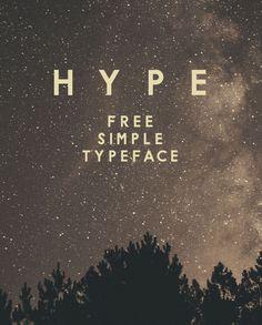 HYPE Free Font