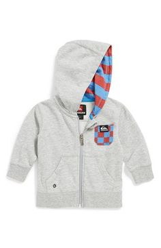 Quicksilver skateboard hoodie for baby.