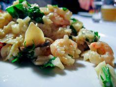 Blomkåls risotto med rejer og svampe(LCHF)