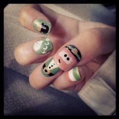 St. Paddy's Day nail art!