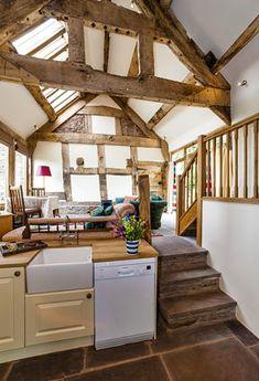 Lovely open plan barn conversion