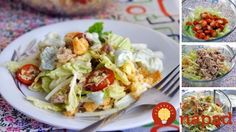 Caesar Salad Ingredients: - Chicken breast (fillet) - Salad Beijing - Cheese varieties to suit your taste - Crackers - Tomatoes pieces). Seafood Recipes, Chicken Recipes, Dinner Recipes, Avocado Recipes, Salad Recipes, Chicken Breast Fillet, Good Food, Yummy Food, Delicious Dishes