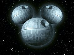 The New Death Star by *GENZOMAN on deviantART  (In honour of Disney's purchase of LucasFilms and Star Wars, no doubt.)