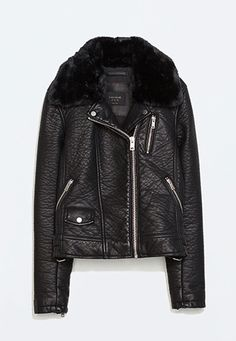 ditch the parka—these leather jackets really keep you warm.