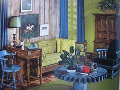 1970 s ethan allen more bunch ranch 1970 s ethan 70 s pad ea style