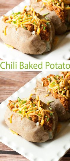 Easy dinner ideas for back to school meals. We've got a Chili Baked Potato and some other easy dinner ideas to get you started.