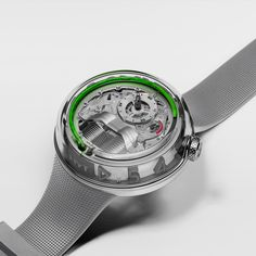 Discover HYT, the Swiss luxury watch brand revolutionising the haute horlogerie industry with a unique fluidic technology. Nail Jewelry, I Love Jewelry, Swiss Luxury Watches, Luxury Watch Brands, Match Me, Omega Watch, Evolution, Clock, Accessories