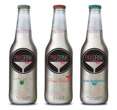 Drink Branding by Dana Tepper, via Behance