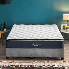 Premium plastic foam mattress pillow top thickness pcoket spring medium support all sizes available Pillow Top Mattress, Foam Mattress, Comfort Mattress, Foam Pillows, Plastic, Luxury, Medium, Spring, Bed