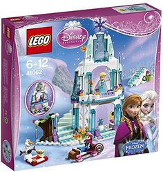 Buy LEGO Disney Princess - Elsa's Sparkling Ice Castle at Mighty Ape NZ. Help Olaf and Princess Anna have a cool adventure in Queen Elsa's magical Ice Castle! Hop aboard the sleigh and join Anna and Olaf as they pay a visi. Lego Disney Princess, Lego Princesse Disney, Frozen Princess, Disney Princesses, Princess Anna, Princess Theme, Princess Girl, Frozen Disney, Finding Nemo