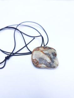 Fossil pendant necklace , unique unisex gift , greek jewelry #UnisexGift #LongNecklace #FossilJewelry #UniqueJewelry #JewelryHandmade #GiftForHer #RealFossil #ShellFossil #GreekJewelry #PendantNecklace#style #love #etsyshopowner #buyhandmade #fashionjewelry Unique Necklaces, Jewelry Necklaces, Pendant Jewelry, Pendant Necklace, Fossil Jewelry, Greek Jewelry, Unisex Gifts, Handmade Bracelets, Necklace Lengths