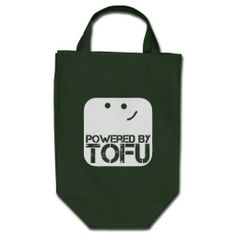 Lover powered by tofu tote bags