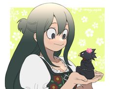 Boku no Hero Academia (My Hero Academia) Image - Zerochan Anime Image Board Boku No Hero Academia, My Hero Academia Tsuyu, My Hero Academia Memes, Hero Academia Characters, My Hero Academia Manga, Tokoyami Boku No Hero, Miraculous, Tsuyu Asui, A Silent Voice