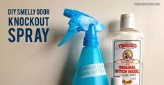 Learn how to make a simple, three-ingredient spray for removing odors around your home. This all-purpose spray is non-toxic and harnesses the powers of essential oils to neutralize odors in all areas of your home, especially the kitchen and bathroom!