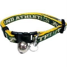 f7e437085 Oakland Athletics Breakaway Cat Collar MLB  Athletics  PetsFirst Pet Gear