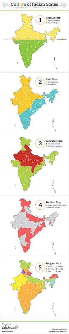 Understanding the Culture of Indian States [Infographic] Gk Knowledge, General Knowledge Facts, India Map, India Travel, Upsc Civil Services, Geography Map, Colors And Emotions, India Facts, History Of India