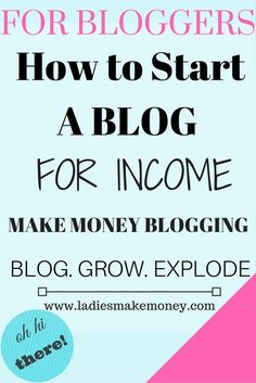 How to start your own blog with Wordpress to start making money online If you are looking for a step by step tutorial on starting your own blog, we have it here for you!
