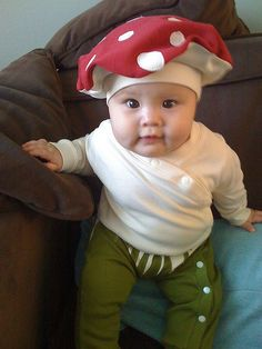 Halloween costume | Flickr Mushroom baby