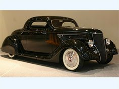#Metallica's Kirk Hammet, 1936 #Ford Coupe