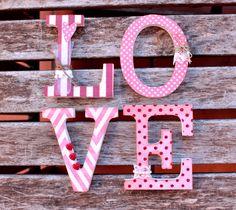 My Sweet Things: Un 'LOVE' muy romántico