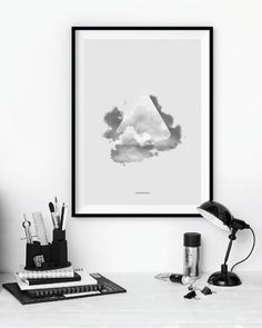 Lost in the Sky - A3 poster - Another Poster Shop