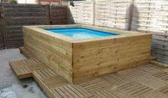 Resultado de imagen de habillage piscine hors sol intex