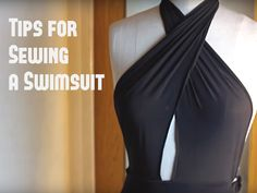 10 Tips for Sewing a Swimsuit (VIDEO) - Craftfoxes