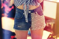Lace Fashion http://www.loveitsomuch.com
