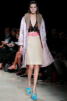 See the complete Miu Miu Spring 2015 Ready-to-Wear collection.