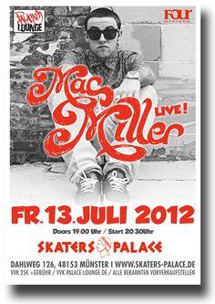Mac Miller Poster Macadelic Tour #MacMiller $9.84