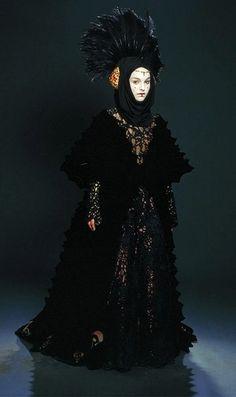 Queen Amidala 'StarWars Episode I: The Phantom Menace'. The 'Escape from Naboo' costume, designed by Trisha Biggar.