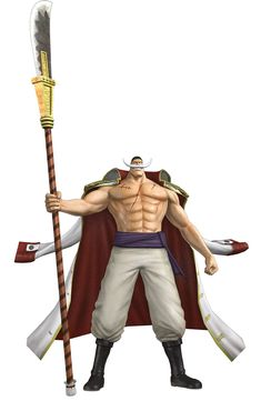 View an image titled 'Whitebeard Art' in our One Piece: Pirate Warriors art gallery featuring official character designs, concept art, and promo pictures. One Piece Theme, One Piece Games, Barba Branca One Piece, Edward Newgate, Figurine One Piece, Character Art, Character Design, One Piece Figure, One Piece World