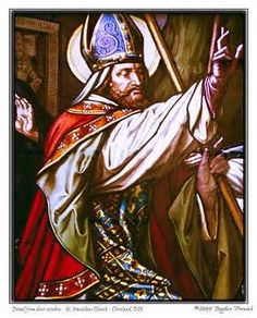 Stanislaus of Szczepanów, (1030 – 1079) St. Stanislaus was a Bishop of Kraków martyred by the Polish King Bolesław II.  Stanisław's major accomplishments included bringing papal legates to Poland, and reestablishment of a metropolitan see in Gniezno.   After a conflict between them, which resulted in his excommunication, the King accused Bishop Stanisław of treason and had him killed.