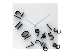 """We can't tell you how many people ask us """"How do you tell the time on this clock?"""". True story."""