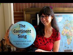 Montessori Lesson - The Continent Song - YouTube