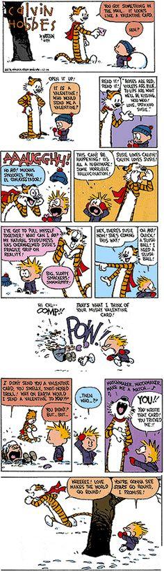 Calvin & Hobbes, Valentine's Day
