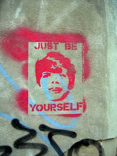 Just Be Yourself- Montreal Grafitti #Canadian
