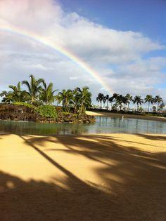 Rainbow at the Hawaiian Hilton Village