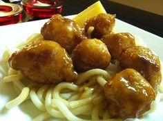 DJ Dave Diner 3/18 Pineapple Polenta Hush Puppies - I don't eat a lot of fried food, but had to try a vegan experiment. Pineapple is never a bad idea, so I combined it with a little rice wine vinegar, polenta, and, of course, a little Sriracha and chili sauce, fried the little nuggets of goodness, glazed those bad boys with pineapple juice and honey, and topped it over udon. Asian for a meatless occasion.