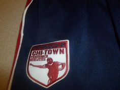 Vintage Chi Town Ball Sports Sweatpants Pants Athletic Throwback sz L Large #na #Baggy