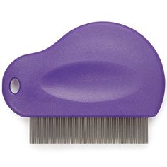 Master Grooming Tools Contoured Grip Flea Combs — Ergonomic Combs for Removing Fleas, Purple ** Check this useful article by going to the link at the image.